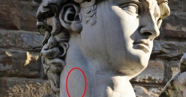 En el David de miguel ángel observó la vena yugular antes de la Ciencia