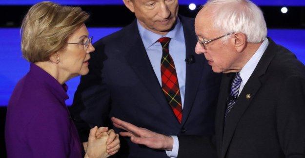Estados unidos, chispas, Sanders-Warren, pero no emerge de un verdadero líder