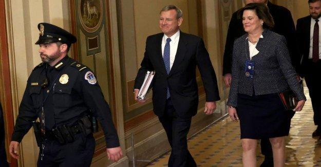 Estados unidos, el Triunfo de la sub-proceso: juicio político a mostrar en el camino en el Senado