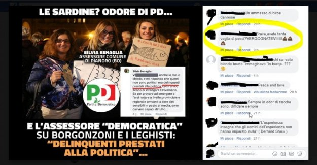 Inversa Salvini: borrar un post en Facebook antes de que un juez le impone