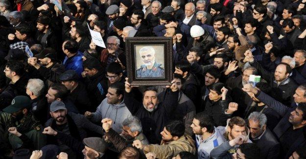 Irán, El raid es buscado por el Triunfo contra Suleimani es un regalo para el régimen impugnado en la plaza