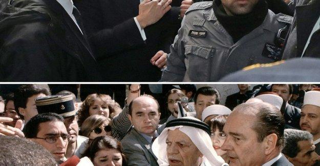 Jerusalén. Macron como Chirac: disputa con la policía israelí en la Ciudad Vieja