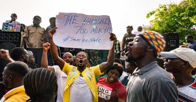 Liberia, miles de personas en las calles en contra de la política económica del presidente Weah