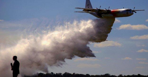 Los incendios en Australia, las caídas durante la intervención, un aire del fuego; las muertes de los tres tripulantes