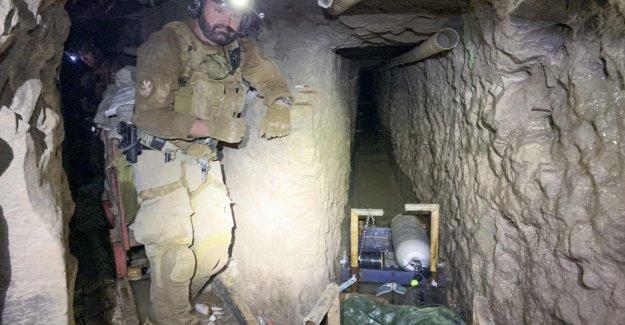 México-estados Unidos, descubrió el túnel de los registros de los narcos