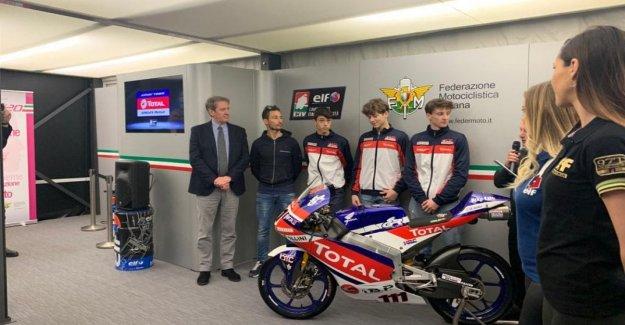 Mts, en el circuito de Monza el curso Vasco Ferrante