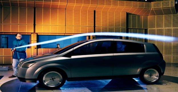 Opel G90, un coche de concepto es tan ligero como una pluma