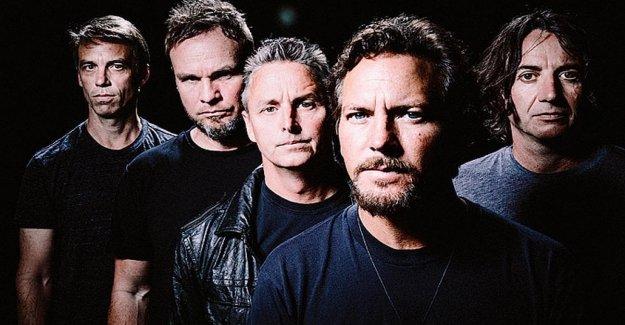 Pearl Jam, viene el nuevo álbum: en el social, algunas de las imágenes teaser