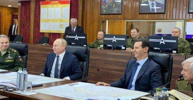 Putin, en la sorpresa y la de las moscas en Siria y cumplir Assad: Hecho mucho para restaurar la soberanía