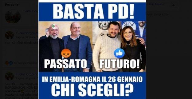 Regional, Borgonzoni se desliza sobre social: quien recibe tu voto? Y en la web las respuestas Pd