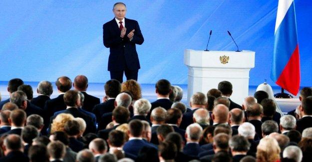 Rusia, discurso a la nación Putin: Es el Parlamento para nombrar al primer ministro
