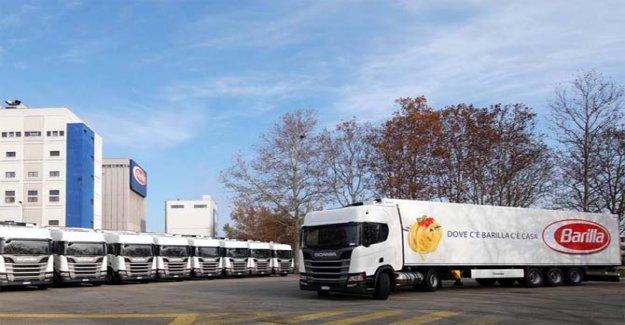 Scania, el pesado de transporte de pensar en verde