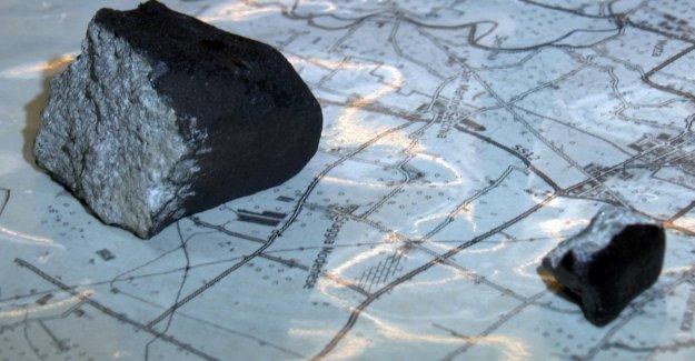 Se encontraron dos fragmentos del meteorito de la Víspera de año nuevo