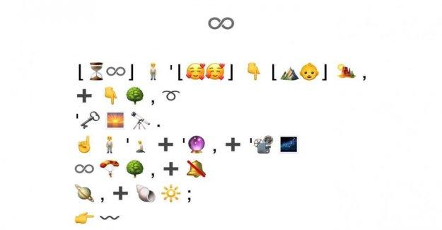 El Infinito de Leopardi en emoji. Hemos traducido el yo poético