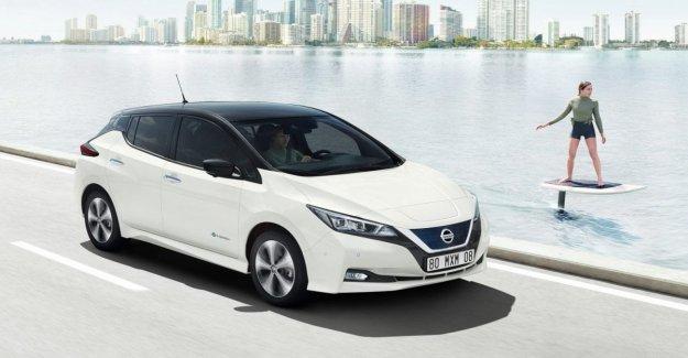 El Nissan Leaf, la comunidad autónoma de la guía de enfoques