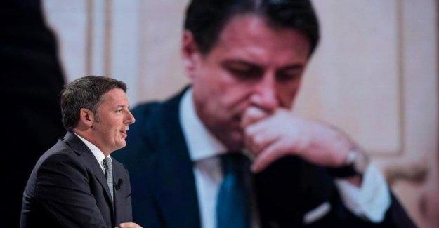 El senado, Renzi para el Conde: el Mal de división en la política europea