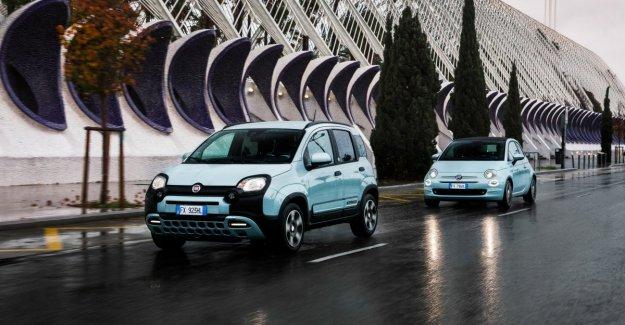 Fiat 500 y el Panda, el debut en la pequeña híbrida