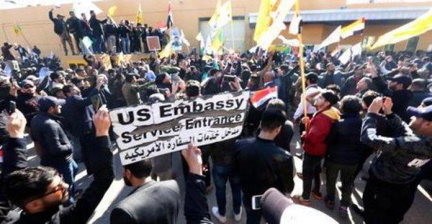 Irak: cohetes estallan cerca de U. s. embajada en Bagdad