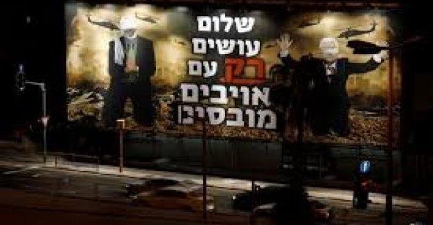 Israel, el alcalde de Tel Aviv es quitar los carteles de la extrema derecha anti Palestina: 'nos Recuerda de Isis y los nazis