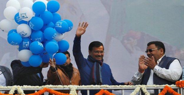 La India, Nueva Delhi y los triunfos de la Fiesta delHombre común