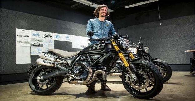 La Scrambler de Ducati 1100 Pro a subir a la silla