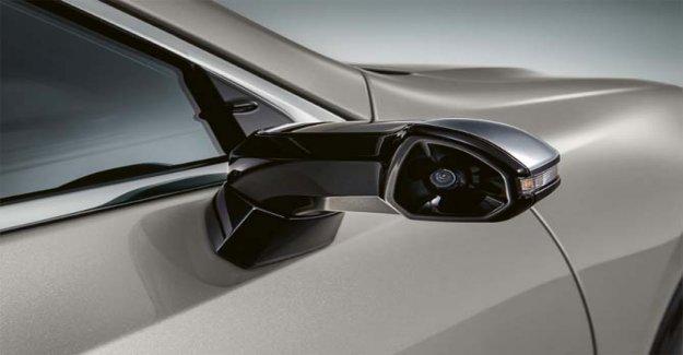 Lexus ES 300 h, bye bye los espejos retrovisores