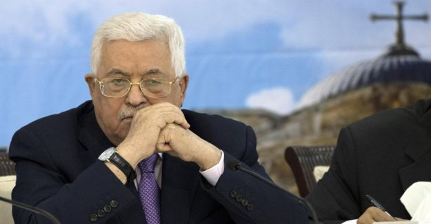 Palestina, después de que el Plan de Trump, Abu Mazen proclamó: el Fin de las relaciones con Israel