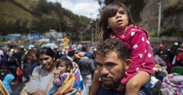 Perú, el País que ha dado la espalda a los refugiados de venezuela, en la frontera con Ecuador