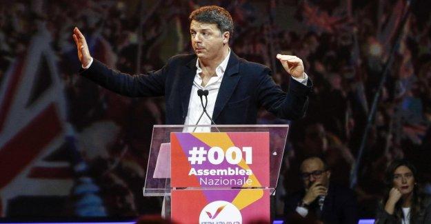 Renzi: Estamos a favor de la estabilidad del gobierno, pero no queremos que el estancamiento