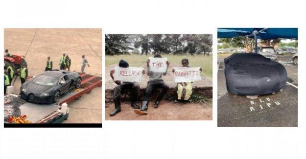 Un Bugatti alrededor de Zambia, los estallidos de protesta
