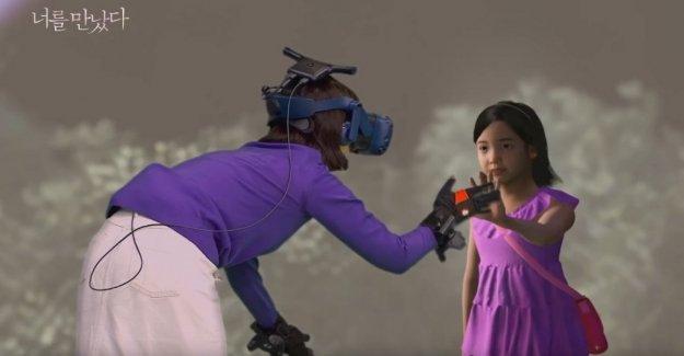 Una madre cumple tu hija ha muerto gracias a la realidad virtual. La experiencia en un documental
