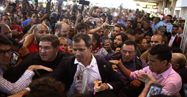 Venezuela, después de la gira internacional Guaidó regresa a Caracas