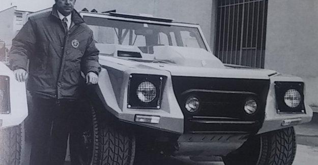 A toda velocidad en el río Taro: Así que he preparado un Lamborghini para el París-Dakar