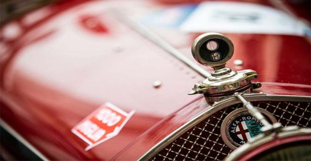 Alfa Romeo en la evidencia de las 1000 Miglia