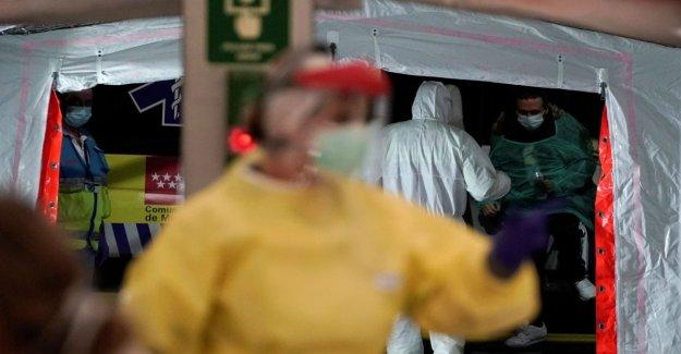 Coronavirus, España en el momento del colapso: 1.720 muertes. El presupuesto es el más alto de Europa después de Italia