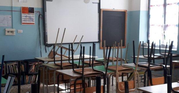 Coronavirus, ahora las escuelas están cerradas para directores y maestros