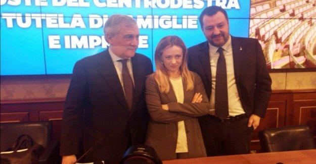 Coronavirus, el centro-derecha para una reunión del gobierno y la propuesta de plan de $ 30 mil millones. Salvini: No somos los carteros