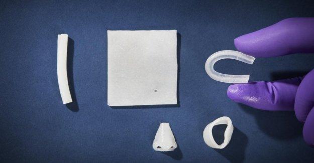 Creado el tejido humano, suela: caucho, utilizados para reconstrucciones