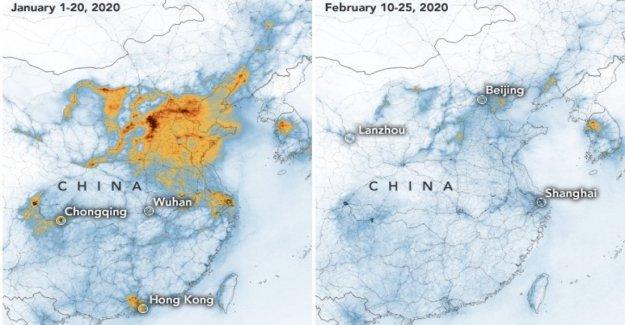 Efecto de coronavirus, de la Nasa: China smog se ha reducido