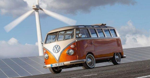 El Volkswagen Bulli, el mito de los hijos de las flores se convierten en eléctrica