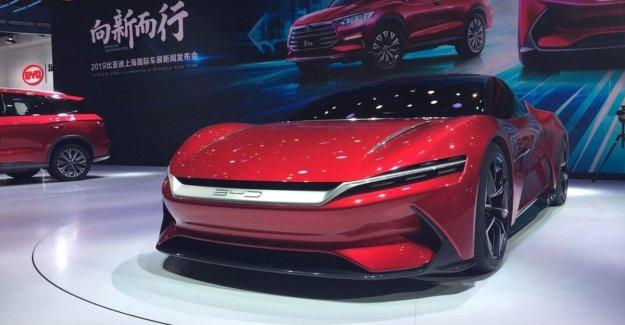 El chino Byd siempre será sorprendido: desde el coche máscaras en tiempo récord
