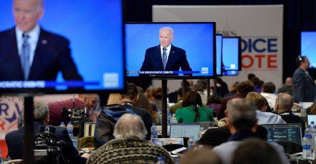 Estados UNIDOS el año 2020, la victoria en Michigan proyectado Biden a la naacp