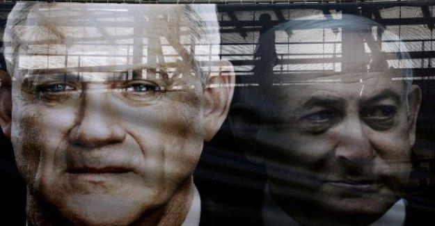 Israel, Gantz la tarea de formar gobierno