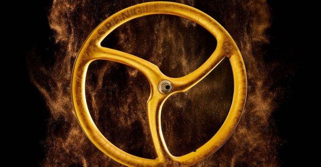 La rueda es el más caro? Es en oro de 24 quilates