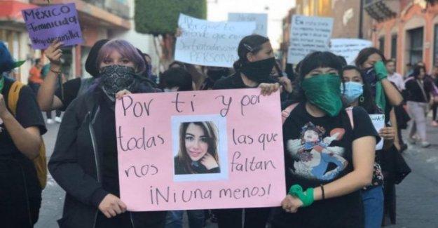 México: diez feminicidio en el día, muy pocos son reconocidos como crímenes contra las mujeres.