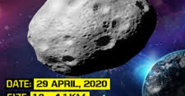 Nasa: un asteroide tan grande como el monte Everest va a estar más cerca de la Tierra el 29 de abril de