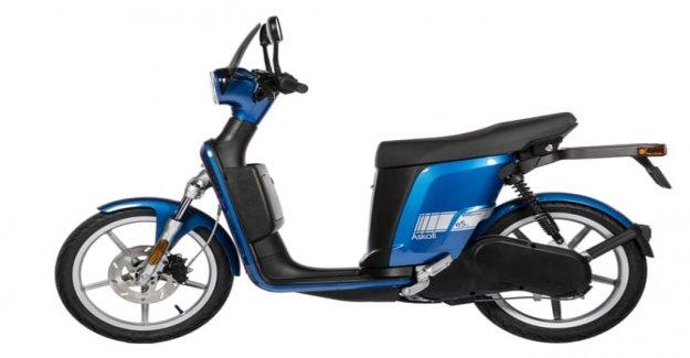 Nuevo scooter Askoll, una vida en color