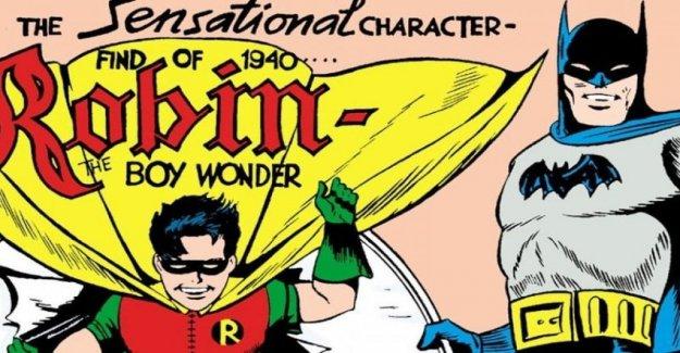 Robin, el hombro de Batman tiene 80 años
