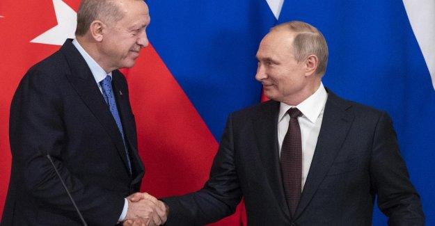 Siria, Putin y Erdogan estar de acuerdo sobre un alto el fuego