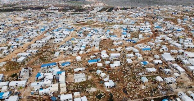 Siria, un millón de desplazados